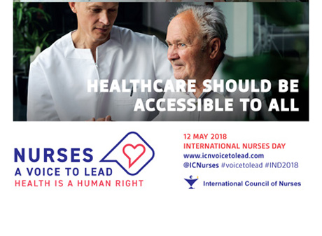 ICN Posters 2018 - Nurses: A voice to lead - Health is a Human Right 