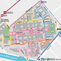 Map Campus Virchow-Klinikum
